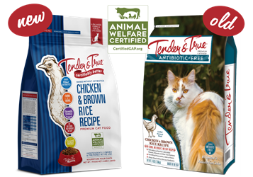 Tender & True Chicken & Brown Rice Recipe for Cats