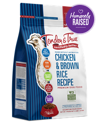 Tender & True Chicken & Brown Rice Recipe for Dogs