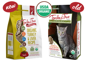 Tender & True Organic Turkey & Liver Recipe for Cats