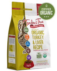 Tender & True Organic Turkey & Liver Recipe for Dogs