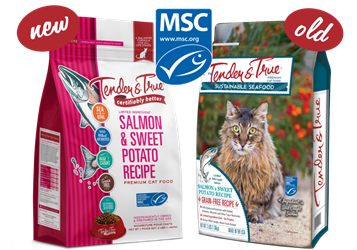 Tender & True Salmon & Sweet Potato Recipe for Cats