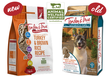 Tender & True Turkey & Brown Rice Recipe for Dogs